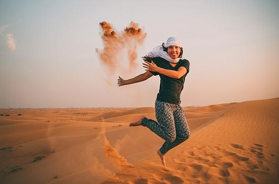 Séjour bien-être entre femmes dans le désert marocain