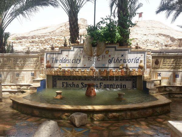 Voyage intiatique israel fontaine de Jericho
