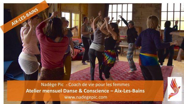 ATELIER mensuel Danse & Conscience – AIX-LES-BAINS