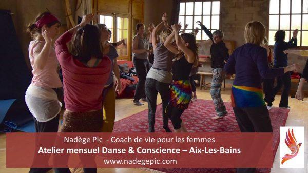 ATELIER mensuel Danse & Conscience - AIX-LES-BAINS