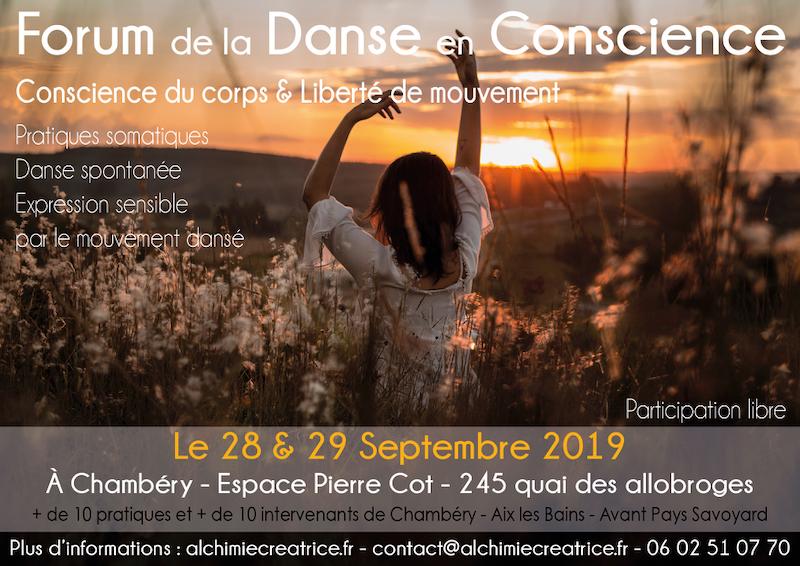 Forum de la Danse en Conscience – Chambéry