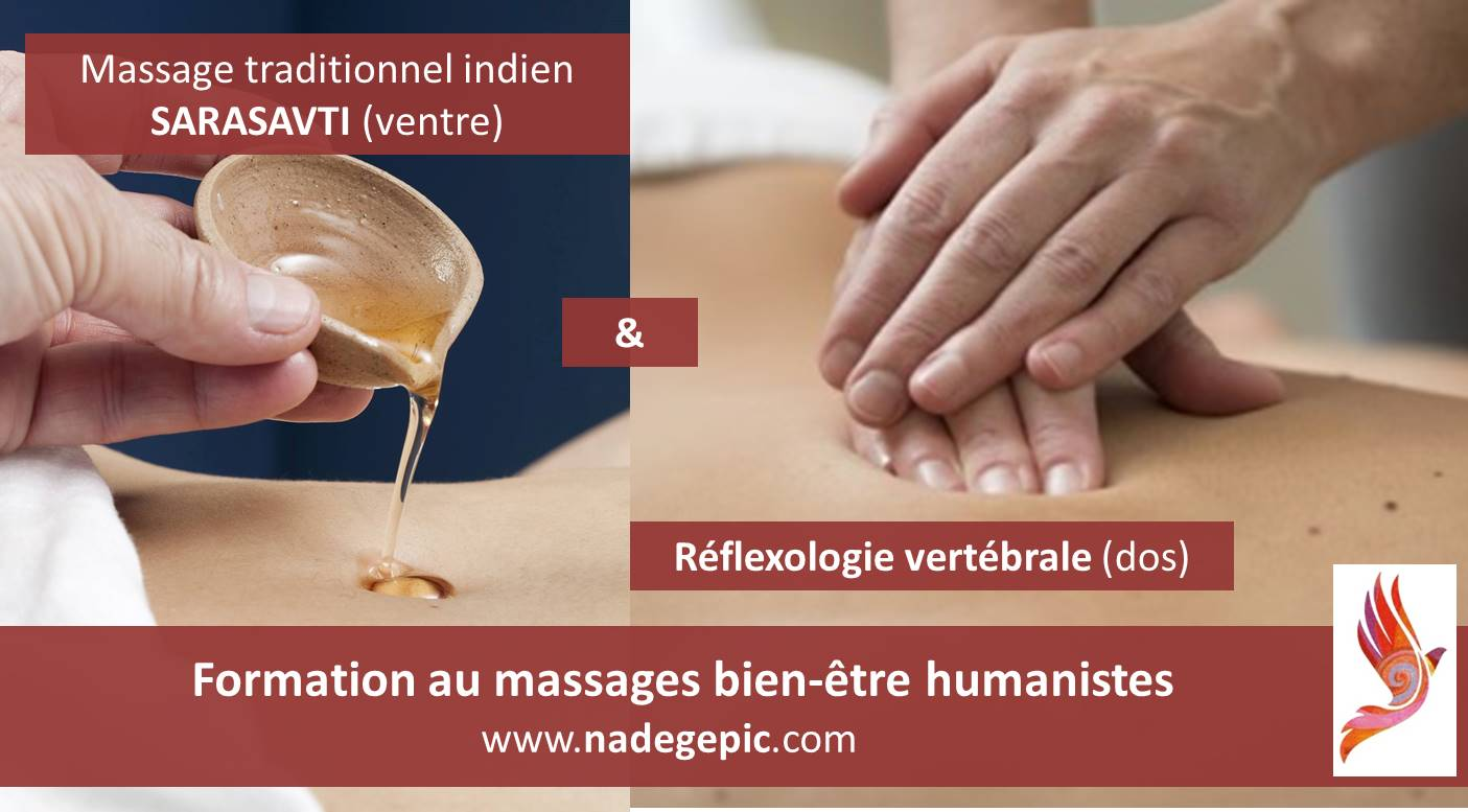 Pack formation massages humanistes DOS & VENTRE en BRETAGNE
